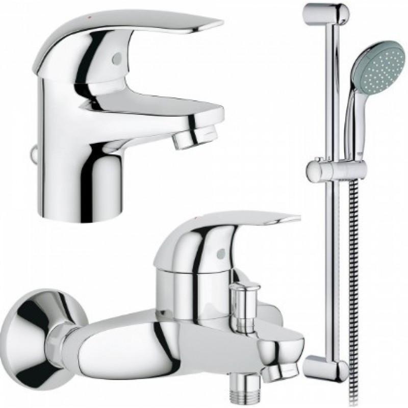 Grohe Euroeco 123226 смесители для умывальника,ванны,стойка