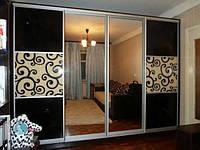 Собранные фасады с комбинированным наполнением для шкафов купе под ваш проём, фото 1