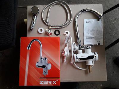 Проточные водонагреватели zerix