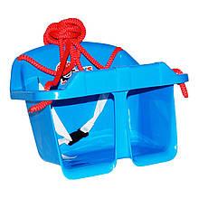 Игровые площадки «ТехноК» (3015) Качели Малыш, синие