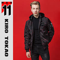 11 Kiro Tokao | Японский бомбер. Весна-осень 3312 черный-красный
