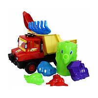 Развивающие и обучающие игрушки «Lico Toys» (Л-015-5) ИгровойнаборсмашинкойСокол,(8элем.)
