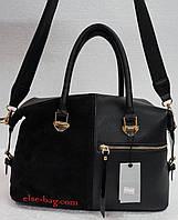 Женская сумка с железной змейкой спереди