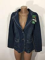 Джинсовый пиджак женский M