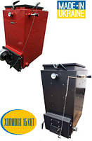 Синергия  15 кВт твердотопливный котел шахтного типа (Холмова)