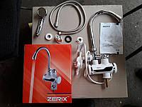 Проточный водонагреватель ZERIX ELW-08P