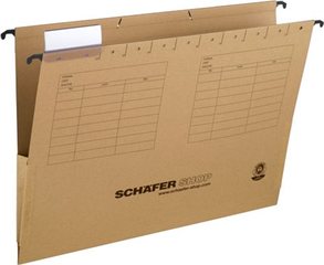 Файл подвесной картотечный с боковым ограничителем