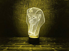 "3D Светильник ""Тутанхамон"""
