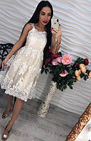 Стильное красивое нарядное платье
