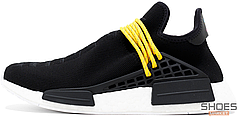 Мужские кроссовки Pharrell Williams x Adidas NMD Human Race Black
