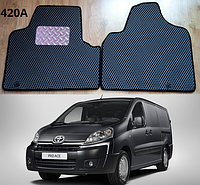 Коврики на Toyota ProAce 13-.  Автоковрики EVA, фото 1