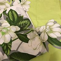 Комплект полуторного цветочного постельного белья из бязи Gold, хлопок 100%