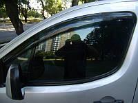 Дефлекторы окон на Peugeot Partner с 2008 г. (HIC)