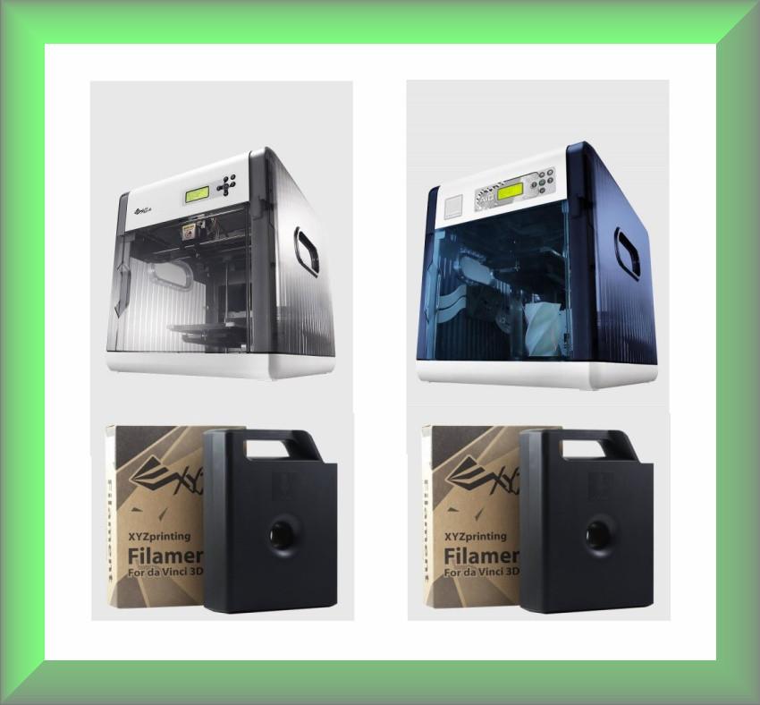 Картридж для 3D принтера XYZpriting DA VINCI (белый)