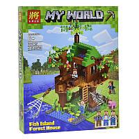 "Конструктор LELE 33125 ""My world""  , 443 дет"