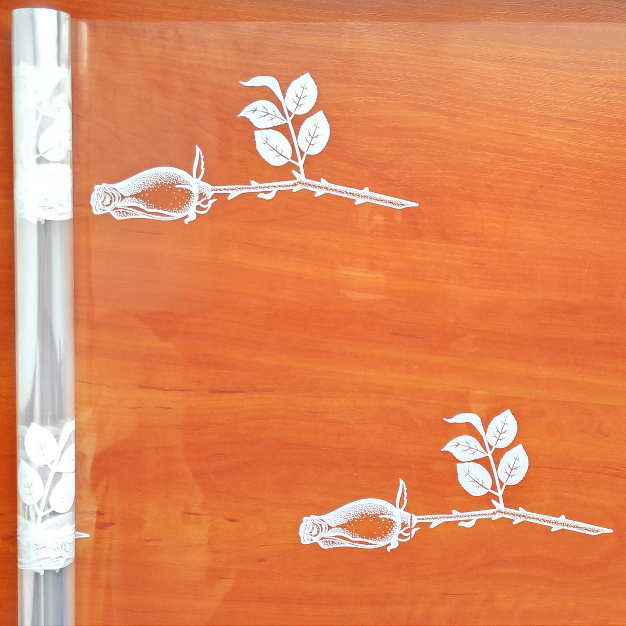 Пленка прозрачная Бутоны роз 60 см 400 гр