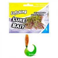 Твистер Esfishing 5 см 12 шт/уп  (WSI51243-4)