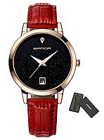 Женские наручные часы Sanda 2017 Relogio feminino P194 Red