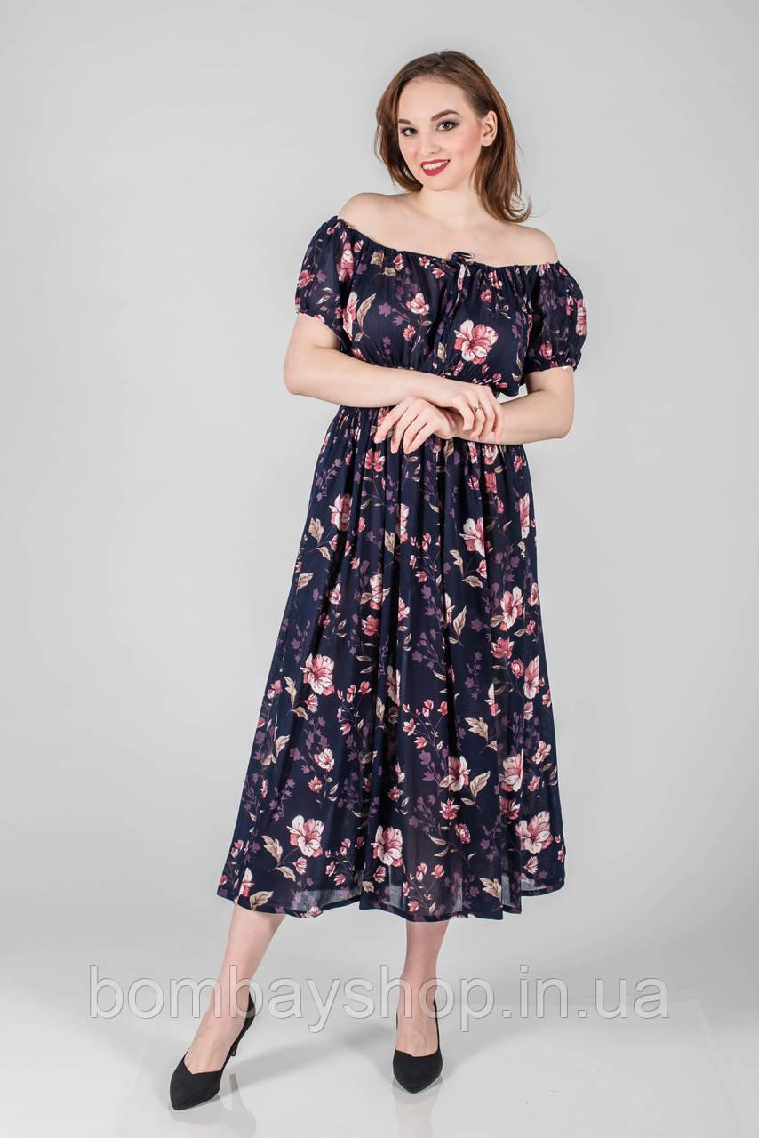 1c276f83a1439d Жіноча літня сукня з квітковим принтом