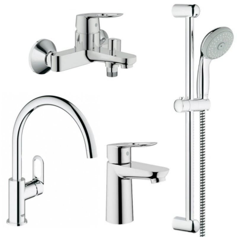 Grohe BauLoop 123225K Смесители для кухни, ванны, умывальника, стойки S-Size
