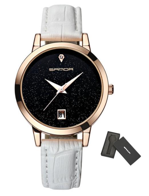 Женские часы Sanda P194 White