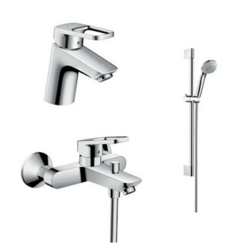 Hansgrohe Logis Loop 1042017 Смеситель для умывальника, ванны, стойка