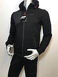 Мужской спортивный костюм Nike из трикотажа копия, фото 5