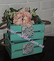 Кашпо для цветов шебби-шик