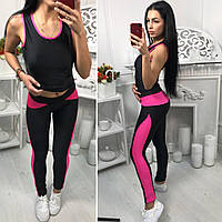 Костюм модный женский для фитнеса в разных цветах SKol10