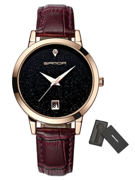 Женские часы Sanda P194 Purple