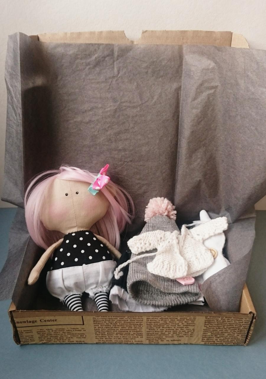 Игровая текстильная кукла, Hand Made