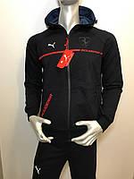 Мужской спортивный трикотажный костюм Puma копия