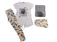 Комплект-двойка для девочки, размеры 134/140-158/164, F&D арт. 3674