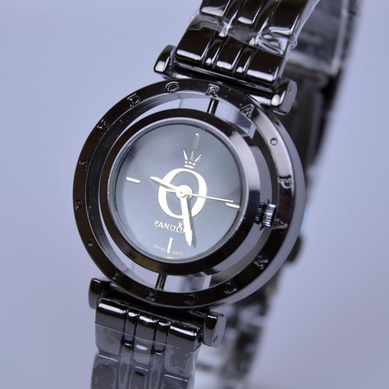 a8737d6204b2 Женские Часы PANDORA (Пандора) B160 Black с Вращающемся Циферблатом ...
