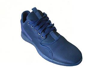 Мужские летние кроссовки Jordan  синий