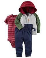 """Набор """"Модник""""штанишки, боди и худди Carter's для мальчика разноцветный 9 мес/67-72 см"""
