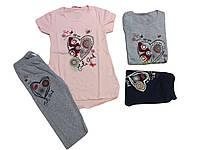 Комплект-двойка для девочки, размеры 134/140-158/164, F&D арт. 3676