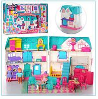 Игровой кукольный домик с мебелью