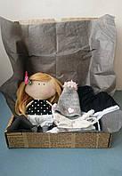 Игровая текстильная кукла Hand Made