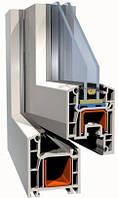 Окна металлопластиковые Brokelman 4-камерная ПВХ-система