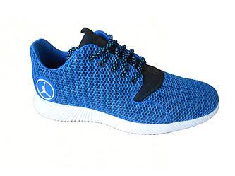 Мужские летние кроссовки Jordan  голубой