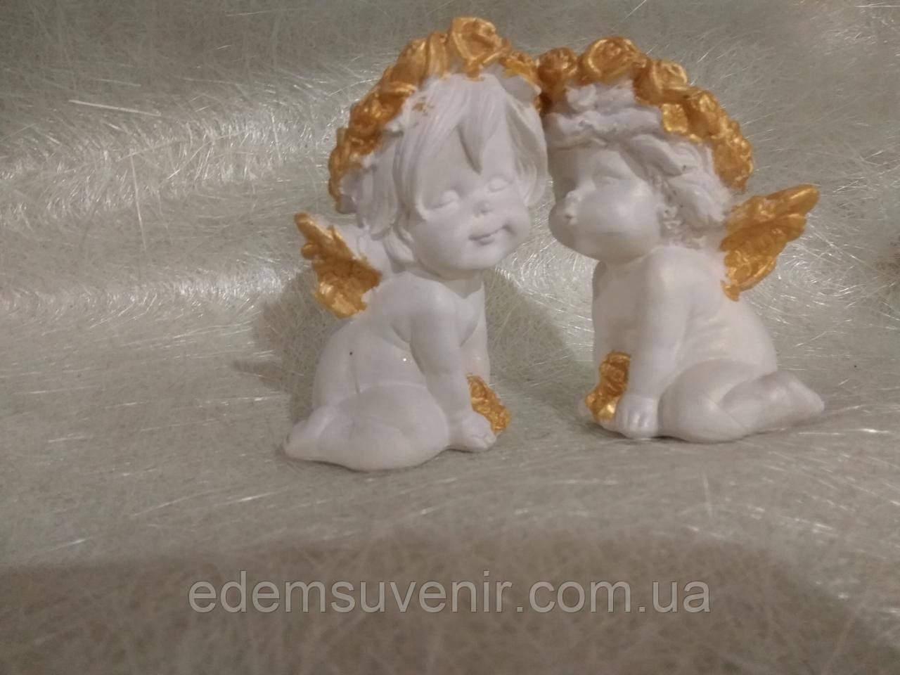 Ангелы Поцелуйчик золото