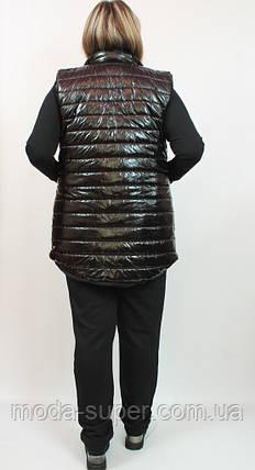 Женский утепленный костюм тройка,Турция,рр 48-56, фото 2