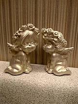 Ангелы Поцелуйчик золото, фото 3