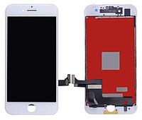 Дисплей iPhone 8 с сенсором (тачскрином) и рамкой, белый, копия