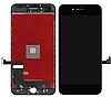 Дисплей iPhone 8 Plus с сенсором (тачскрином) и рамкой, черный, копия