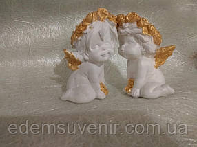 Ангелы Поцелуйчик бронза, фото 3