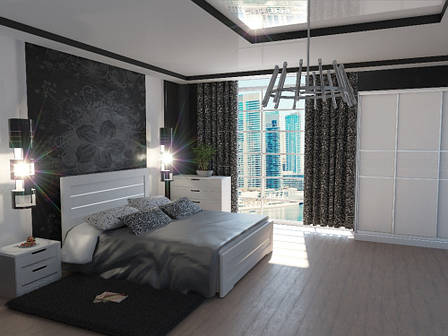 Спальный гарнитур Соломия Neman, цвет белый, фото 2