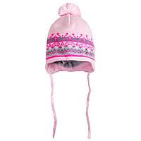 Детская шапка вязаная для девочки