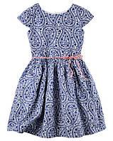 Платье Carter's для девочки синее 2Т/86-93 см